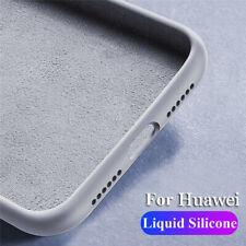 Per Huawei Honor 20 10 9 8 Lite antiurto in silicone liquido in gomma TPU Custodia Case Cover