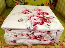 SIMPLY SHABBY CHIC 3pc SUNBLEACHED FLORAL KING DUVET COVER SET RACHEL ASHWELL