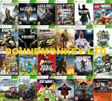 Xbox 360 Games Buy 1 Or Bundle Up - Very Good Super Fast Delivery