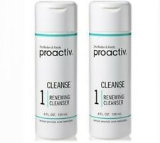 2 Pack Proactiv Step 1 Renewing Facial Cleanser 4 oz. 120 mL NEW Expired 10/2021