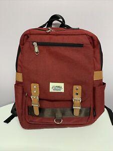 Jayhill Red Backpack Rucksack Bag
