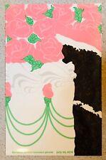 ORIGINAL VINTAGE 1978 Herman Miller Picnic Poster CHOCOLATE CAKE Excellent NOS