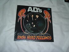 A.D.'S Know Hard Feelings '87 LP EXTREME RARE PRIVATE Hard Rock SEALED !!!!!