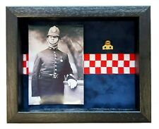 More details for medium city of london polce medal display case with photograph for 1 medal