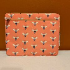 FOSSIL IPAD SLEEVE COVER CASE PINK BEES IPAD 2 3 4