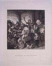 alt niederländisches Familienfest, C.Rauscher/Jan Steen