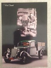 Mercedes Benz 170K Wille Birgel. Post Card 1st On eBay Car Poster. Own It!