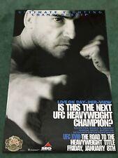 UFC 18 Poster SEG Bas Rutten