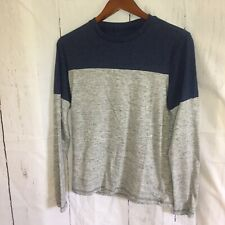 Prince & Fox Mens Size  Small  Blue and Gray Long Sleeve Shirt