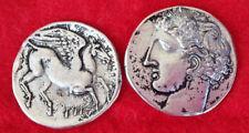 Ancient Greek Coin , 10 Drachmas , Persephone I