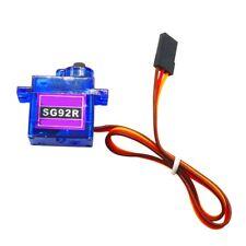 SG92R Mini Carbon Servo Motor Gear Analog Micro 9g 2.5kg für RC Auto Flug SALE