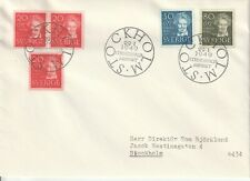 SWEDEN 1948 STRINDBERG FDC FIRST DAY COVER
