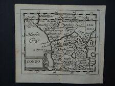 1685 DU VAL  Atlas map  CONGO - AFRICA - Afrique -  Duval