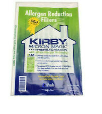 Kirby Vacuum Bags 4 Pack Micron Magic CLOTH HEPA FILTRATION Allergen REDUCTION