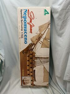 Artesania Latina San Juan Nepomuceno Model Ship Kit Scale 1/90 NEVER ASSEMBLED