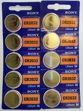 Lithium Cr2032 Batteries Expires 2026 Coin/Button *H5 Lot of 2 New 5 Pcs Sony 3V