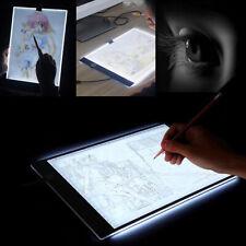 A4 LED Artista Tatuaje Plantilla Tablero Caja De Luz Mesa De Dibujo