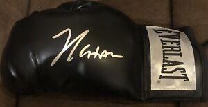 Julio Cesar Chavez Signed Boxing Glove Jsa Black