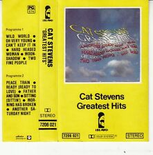 K 7 AUDIO (TAPE)  CAT STEVENS *GREATEST HITS*