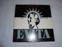 Evita By Tim Rice/Andrew Lloyd Weber (Vinyl 2-LP 1979) Used ORG LP 33 Album