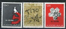 1318 - Yugoslavia 1969 - Communist Party Congress - MNH Set