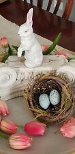 Antique Vintage German Rabbit Composition 1940 Easter
