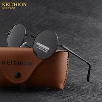 Round Polarized Sunglasses Hippie Retro Vintage John Lennon Sunglasses Eyewear 1