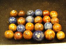 handmade German Bennington marbles    J19b