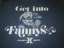 GET INTO FANNYS BAR NIGHT CLUB VINTAGE 70S TEE SHIRT PASADENA CA