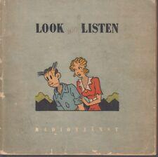 Blondie und Dankwart (Chic Young) - Comic als Radiokurs 1949 (Schweden)