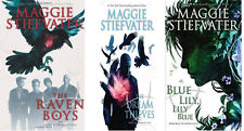 THE RAVEN CYCLE BOOK SERIES VOLUMES 1-3 PAPERBACK SET BY MAGGIE STIEFVATER NEW!!