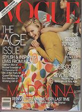 VOGUE MAGAZINE AUGUST 2005 MADONNA US*