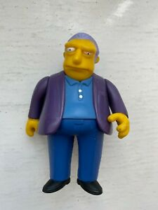 PLAYMATES INTERACTIVE THE SIMPSONS SERIES 1 FAT TONY MOBSTER ACTION FIGURE WOS