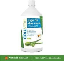 Aloe vera puro para beber con pulpa natural/zumo 99.5% Bio Ecológico