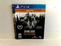 Dying Light The Following Enhanced PS4 ARTWORK ONLY Insert Authentic Original