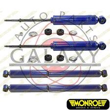 Monroe Brand New Front & Rear Shocks Kit For Dodge Durango 1998-2003 4X4 4WD