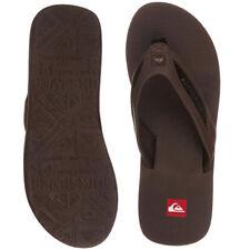 Sandales et chaussures de plage marron Quiksilver pour homme