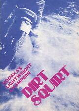 Hodaka Dealer Advertisement - Dirt Squirt 1974 - Dirt Bike Review, Original NOS