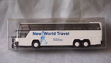 RIETZE AUTO BUS COACH NEOPLAN CITYLINER NEW WORLD TRAVEL LIVERY HO 1/87