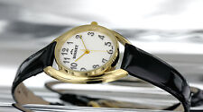 Gold Plated Case Polished Swiss Made Watches