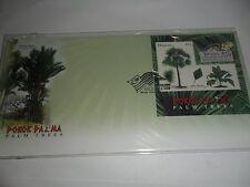 Malaysia fdc 2009 palm tree korea overprint ms