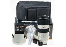 MINT Sony FE 70-200mm F2.8 OSS G Master GM Lens E-Mount Full Frame