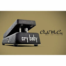 Jim Dunlop JD-CM95 Clyde McCoy Cry Baby Wah Wah Pedal CM95 - New