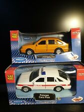 Welly Polonez Caro Plus x2 1:34 Diecast Models