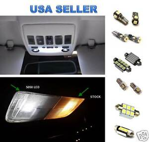 12pc Audi A6 S6 C6 LED Lights Interior Package Kit - 2005-2011
