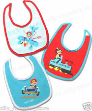 Paul Frank Julius Vehicle Train Plane Race Car Bib Set