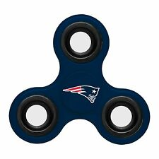 New England Patriots Diztracto Spinner Logo 3-way Toy Stress Fidget Hand Finger