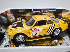 Renault Alpine A110 1600S Rallye San Remo Bburago 1:18
