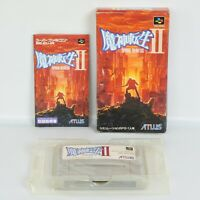 MAJIN TENSEI II 2 Megami Super Famicom Nintendo 5358 sf