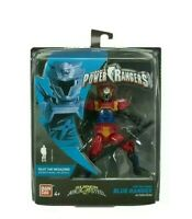 "POWER RANGERS Super Ninja Steel - Lion Fire Armour BLUE RANGER  5"" Action Figure"